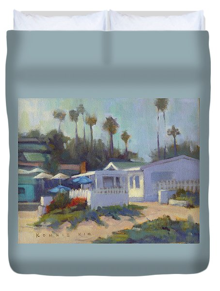 Sunny Day At Crystal Cove Duvet Cover