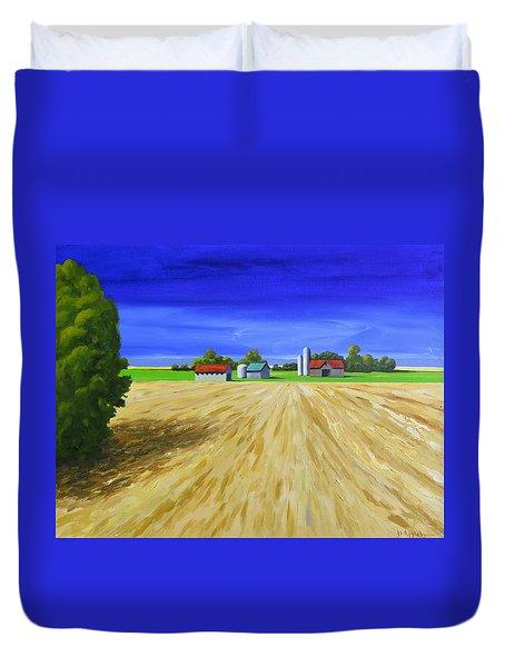 Sunny Fields Duvet Cover