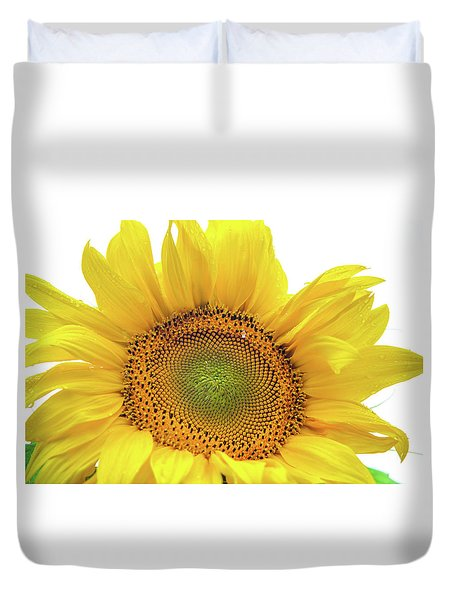 Duvet Cover featuring the photograph Sunny Flower 1 by Jenny Rainbow