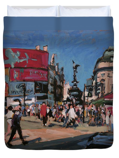 Sunny Piccadilly Duvet Cover