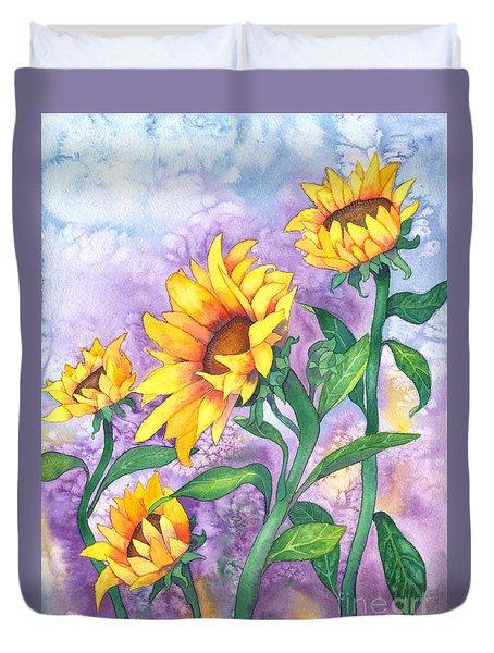 Sunny Sunflowers Duvet Cover