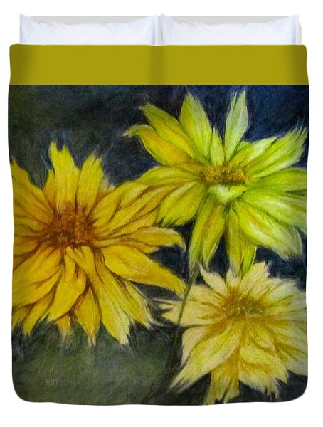 Sunny Yellow Duvet Cover