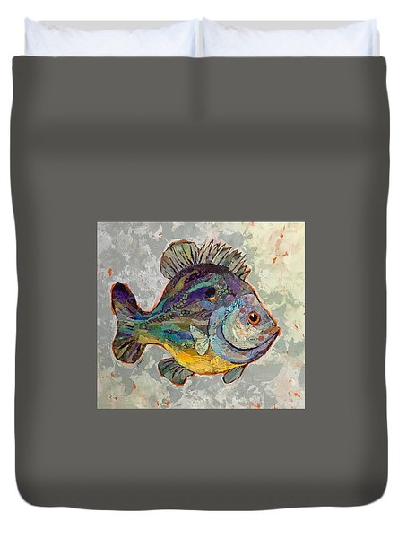 Sunnyfish Duvet Cover