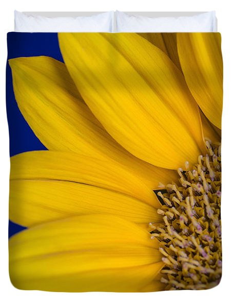 Duvet Cover featuring the photograph Sunnyside by Julie Andel