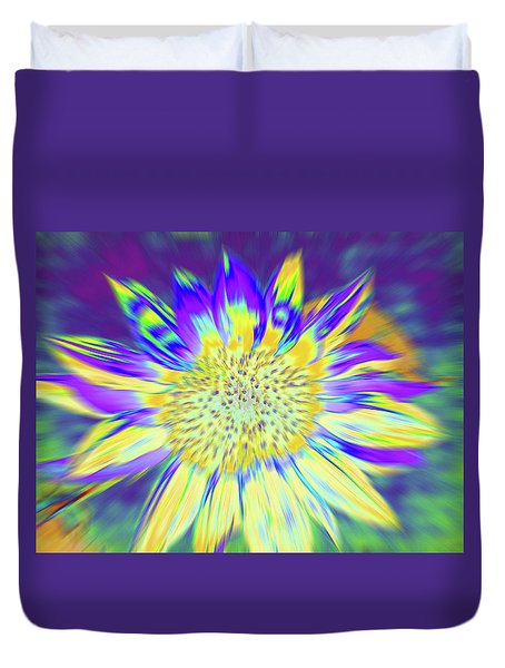 Sunpopped Duvet Cover