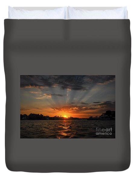 Sunrays Duvet Cover