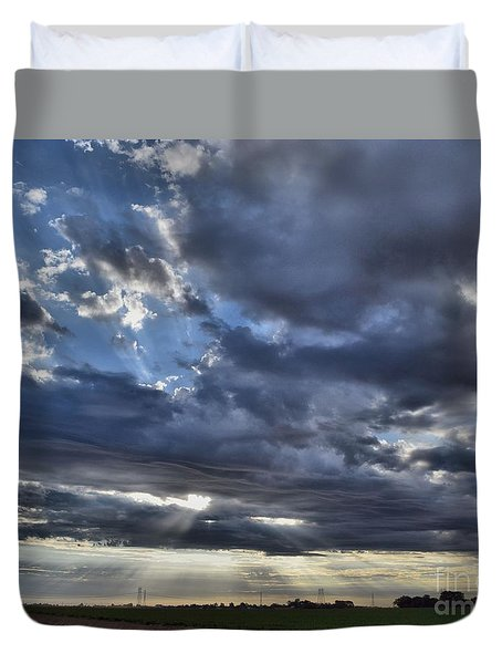Sunrise 10-17-15 Duvet Cover