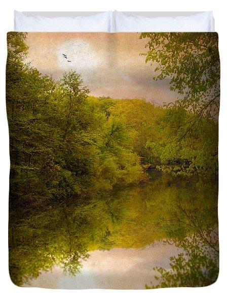 Sunrise 2 Duvet Cover by Jessica Jenney