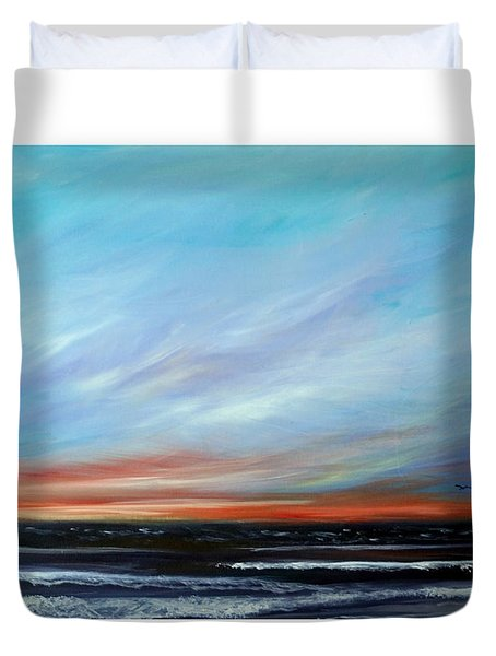 Sunrise And The Morning Star Eastern Shore Duvet Cover