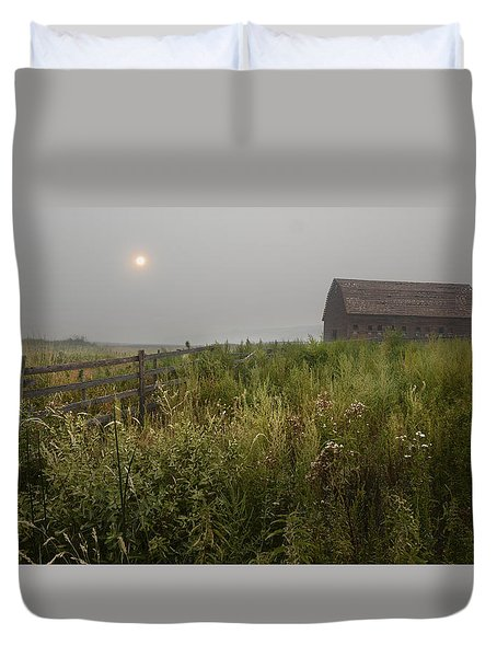 Sunrise At Black Sage Duvet Cover