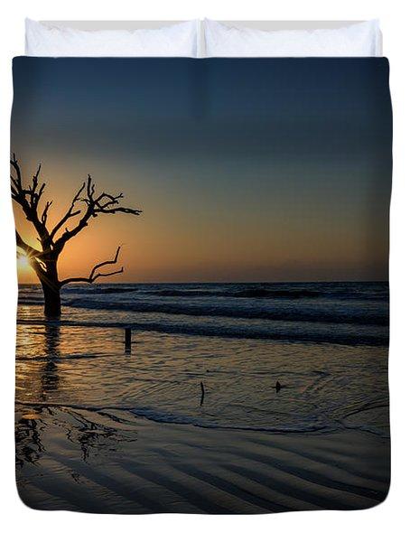 Sunrise At Botany Bay Duvet Cover