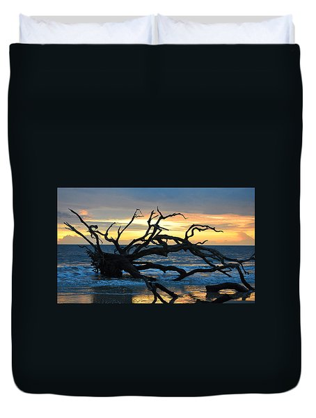 Sunrise At Driftwood Beach 1.1 Duvet Cover