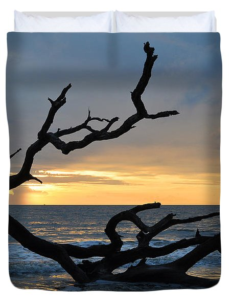 Sunrise At Driftwood Beach 1.2 Duvet Cover
