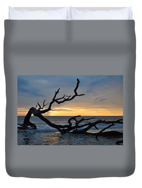 Sunrise At Driftwood Beach 1.2 Duvet Cover