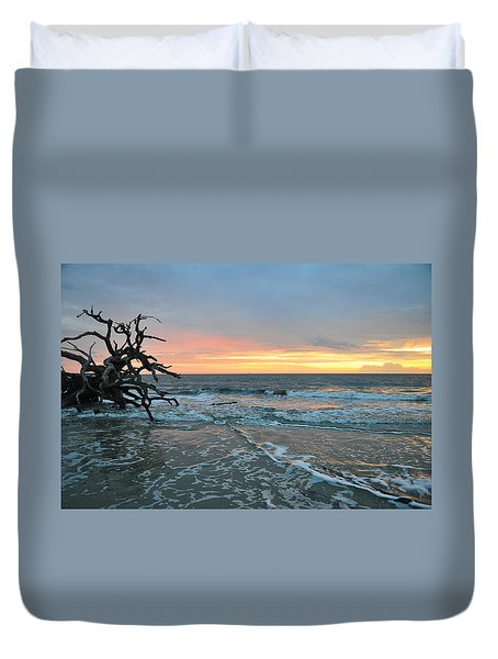 Sunrise At Driftwood Beach 1.3 Duvet Cover