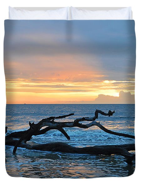 Sunrise At Driftwood Beach 1.4 Duvet Cover