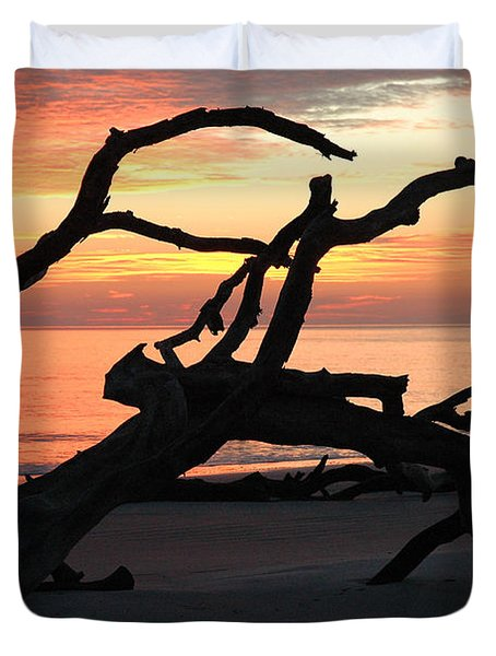 Sunrise At Driftwood Beach 3.1 Duvet Cover