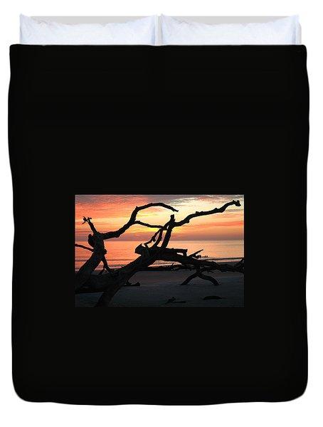 Sunrise At Driftwood Beach 3.1 Duvet Cover