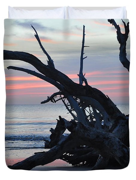 Sunrise At Driftwood Beach 5.1 Duvet Cover