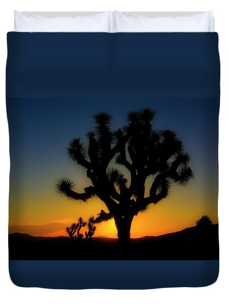 Sunrise At Joshua Duvet Cover