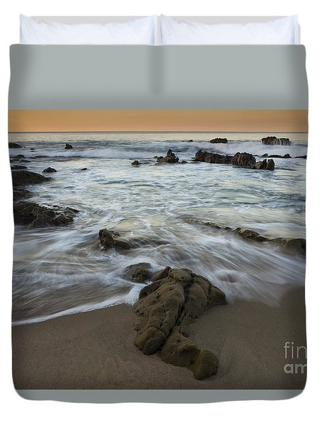 Sunrise At Laguna Beach Duvet Cover