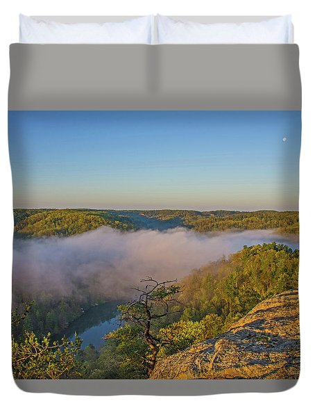Sunrise At Mill Creek Lake. Duvet Cover by Ulrich Burkhalter