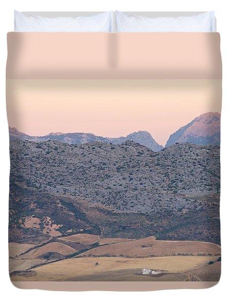 Sunrise At Mirador De Ronda Duvet Cover