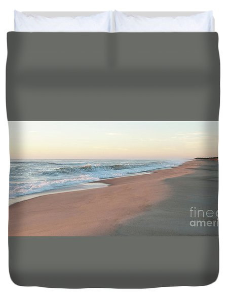 Sunrise At Nauset Duvet Cover