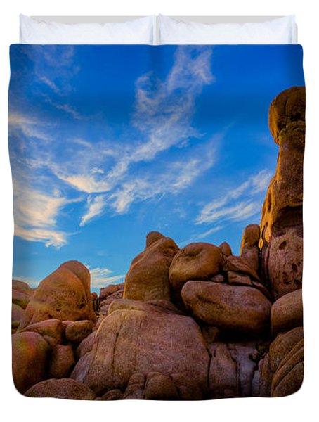 Sunrise At Skull Rock Duvet Cover