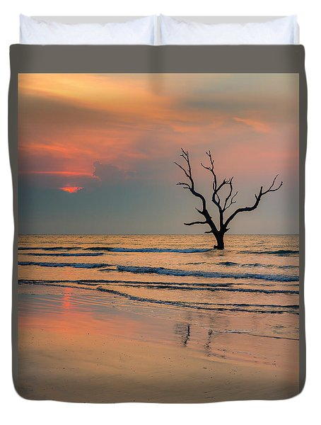 Sunrise At The Boneyard Duvet Cover