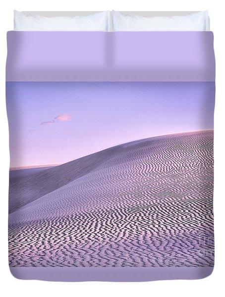 Sunrise At White Sands Duvet Cover
