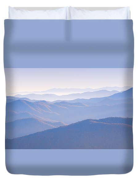 Sunrise Atop Clingman's Dome Gsmnp Duvet Cover