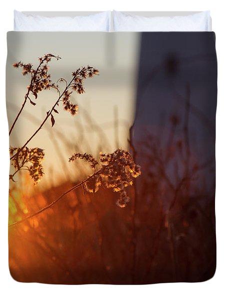 Sunrise Backlight Duvet Cover