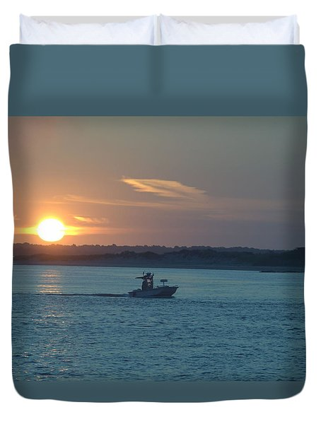 Sunrise Bassing Duvet Cover