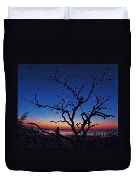 Sunrise Beach Duvet Cover