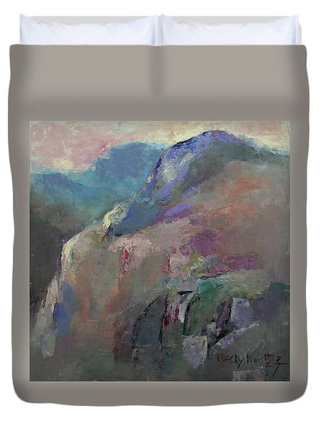 Sunrise Duvet Cover by Becky Kim