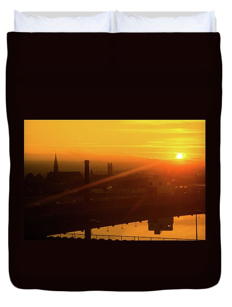 Sunset Belfast Duvet Cover