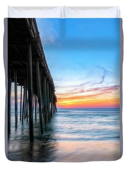 Duvet Cover featuring the photograph Sunrise Blessing by Russell Pugh