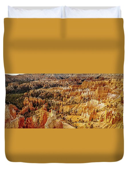 Sunrise Bryce Canyon Duvet Cover