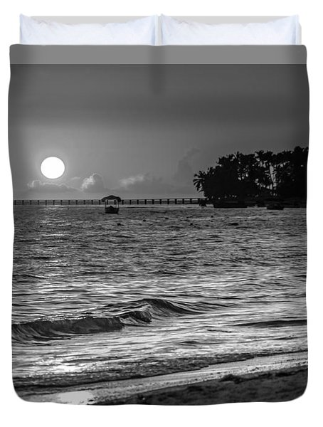 Sunrise  Duvet Cover by Bulik Elena