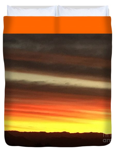 Sunrise Collection #1 Duvet Cover