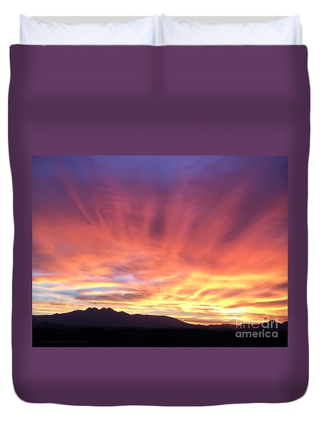 Sunrise Collection #2 Duvet Cover