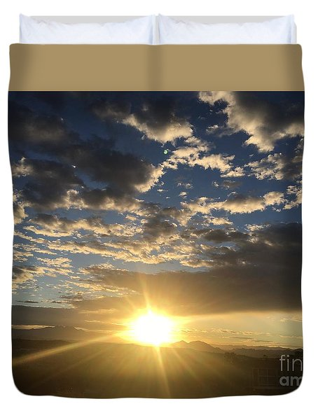 Sunrise Collection #3 Duvet Cover
