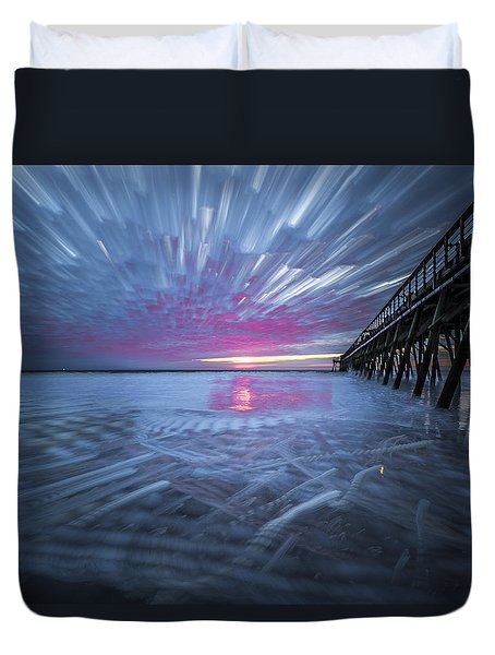 Sunrise Color Duvet Cover