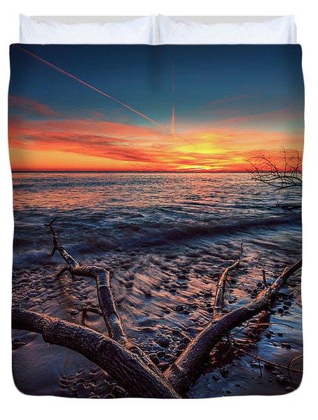 Sunrise Crossing  Duvet Cover