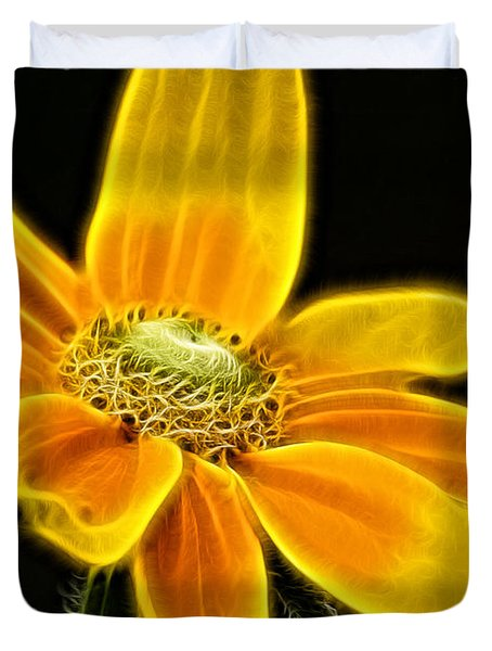 Sunrise Daisy Duvet Cover