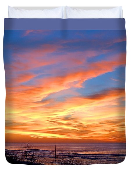 Sunrise Dune I I I Duvet Cover