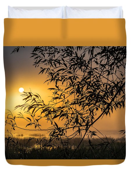 Sunrise Fog Duvet Cover