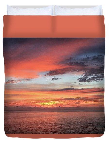 Sunrise From Koko Head Duvet Cover