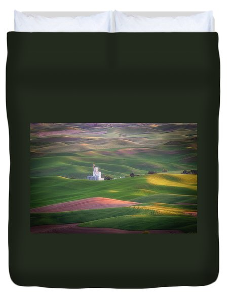 Sunrise From Steptoe Butte. Duvet Cover